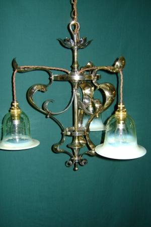 Photo & Period Lighting at Thistle Antiques Aberdeen